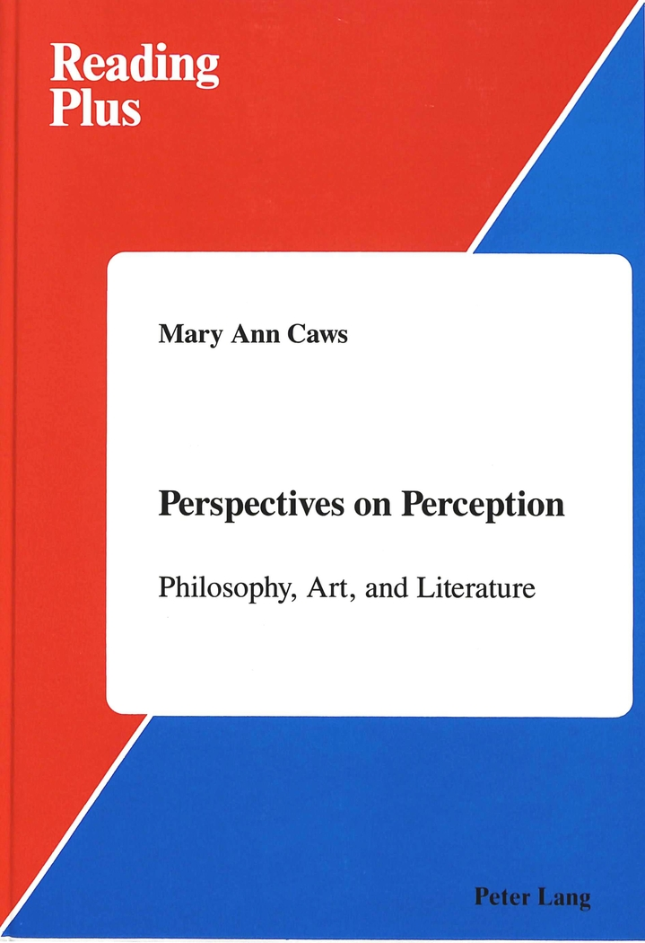 Perspectives on Perception | Mary Ann Caws |  9780820404691