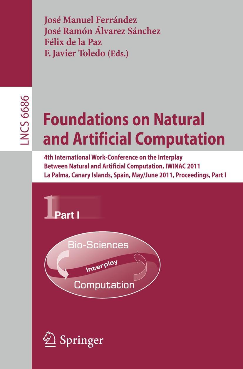 Foundations on Natural and Artificial Computation José M. Ferrández