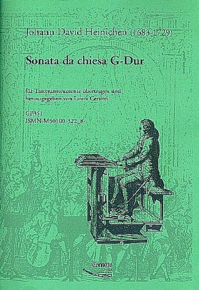 Sonata da chiesa G-Dur : für Tasteninstrument