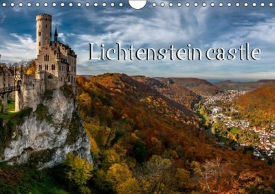 Lichtenstein castle (Wall Calendar 2019 DIN A4 Landscape)