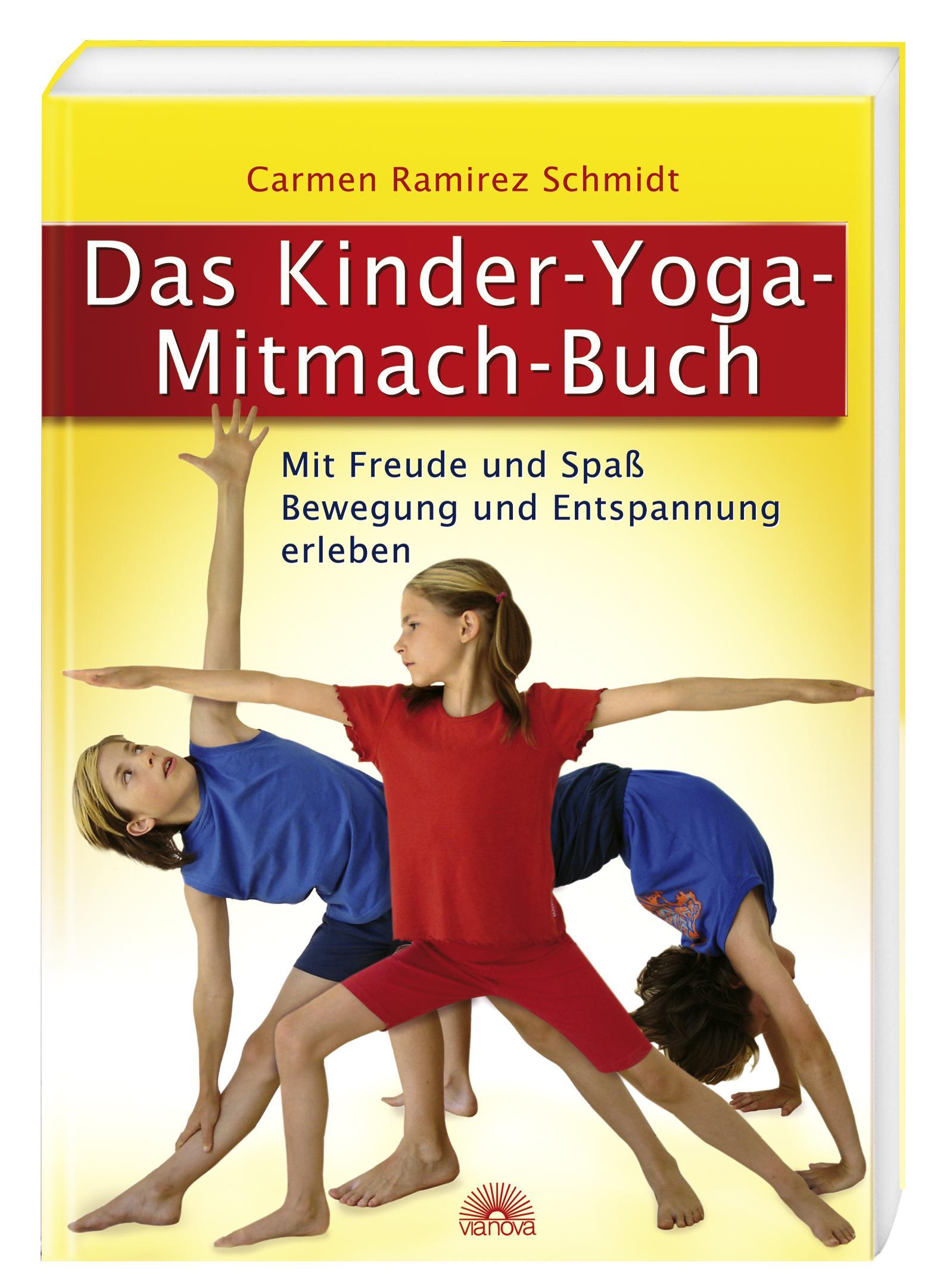 Das Kinder-Yoga-Mitmach-Buch, Carmen Ramirez Schmidt