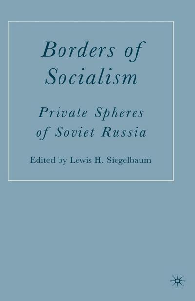 Borders of Socialism