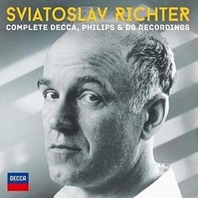Svjatoslav Richter - Complete Decca, Philips & DG Recordings (Limitiert), 51 Audio-CD