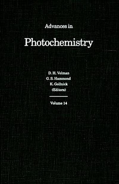 Advances in Photochemistry, Volume 14