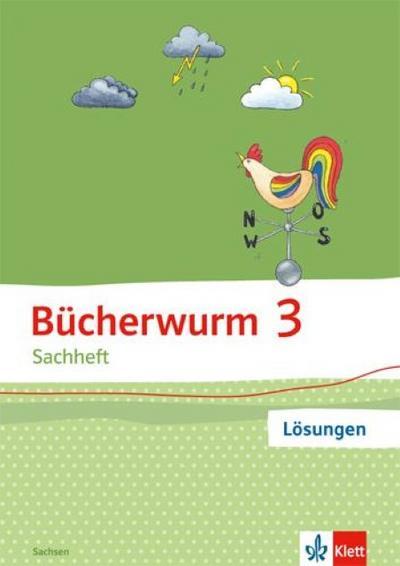 Bücherwurm Sachheft. Arbeitsheft 3. Schuljahr. Ausgabe für Sachsen