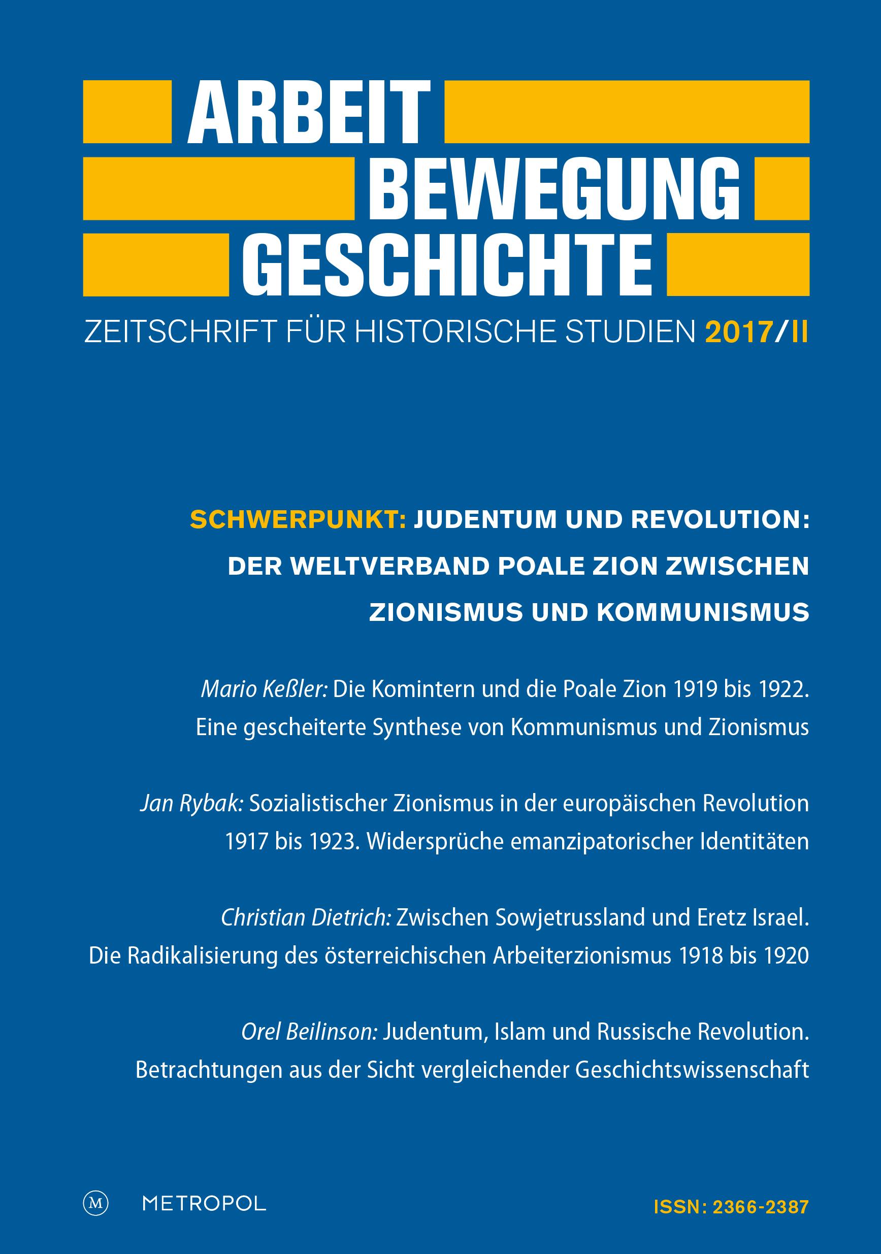 Arbeit - Bewegung - Geschichte,