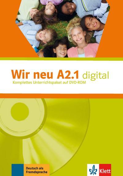 Wir neu - Grundkurs Deutsch für junge Lernende Wir neu - Grundkurs Deutsch für junge Lernende. Wir neu A2.1 digital, DVD-ROM