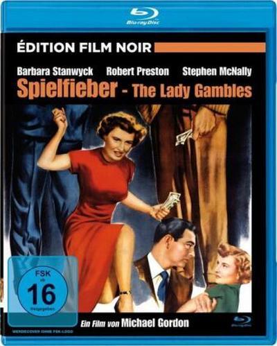 Spielfieber - The Lady Gambles, 1 Blu-ray