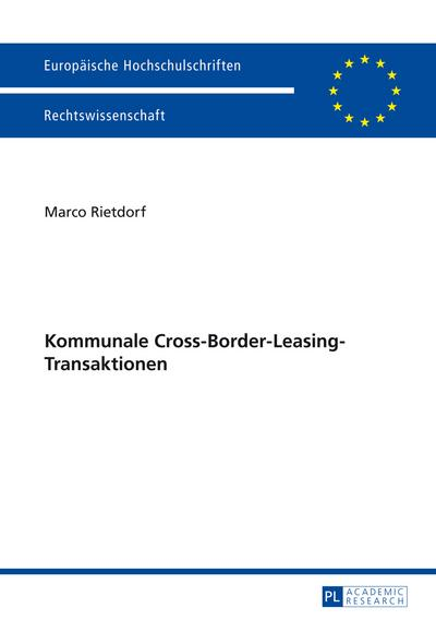 Kommunale Cross-Border-Leasing-Transaktionen