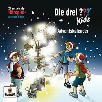 Die drei ??? Kids - Adventskalender Relaunch (2Audio-CD's)
