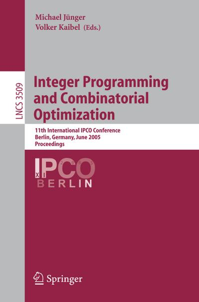 Integer programming and combinatorial optimization : proceedings