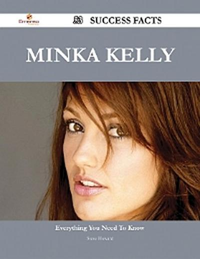 Minka Kelly 53 Success Facts - Everything you need to know about Minka Kelly