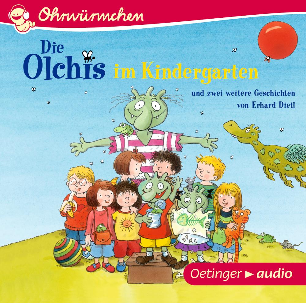Die Olchis im Kindergarten und zwei weitere Geschichten von Erhard Dietl (C ...