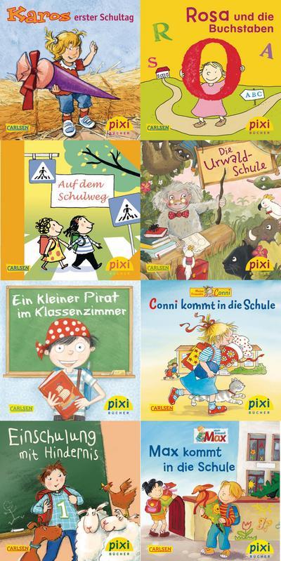 Pixi-Bundle 8er Serie 223: Willkommen in der Schule!