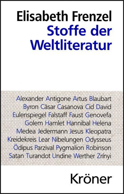 Stoffe der Weltliteratur