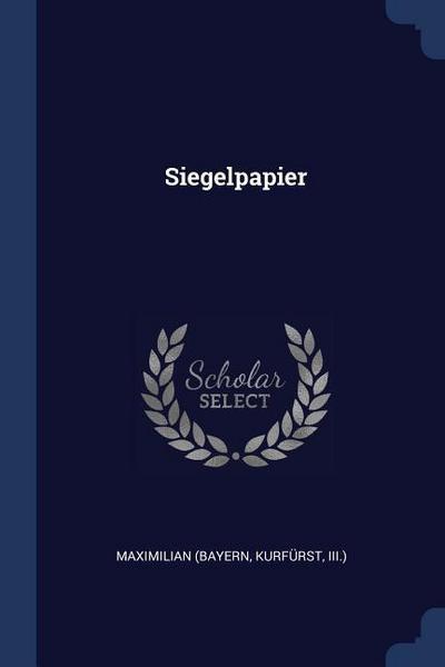 Siegelpapier