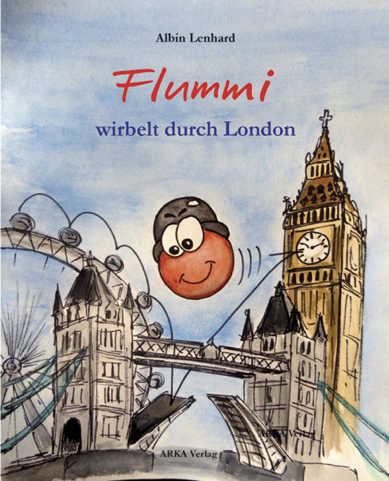 Flummi wirbelt durch London Albin Lenhard