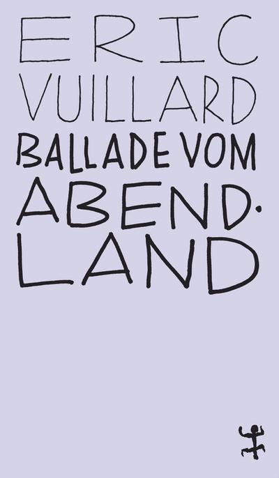 Ballade vom Abendland (MSB Paperback)