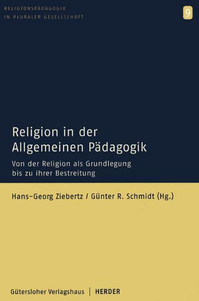 Religion in der allgemeinen Pädagogik