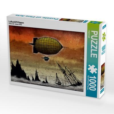 Luftschiff Klippen (Puzzle)