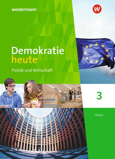 Demokratie heute 3. Schülerband. Hessen