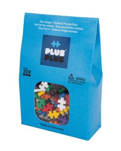 Plus-Plus 52123 - Mini Basic Bausteine, 300 Stück