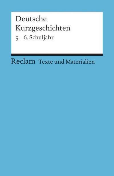 Deutsche Kurzgeschichten 1