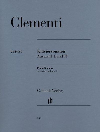 Klaviersonaten, Auswahl, Band II (1790-1805)