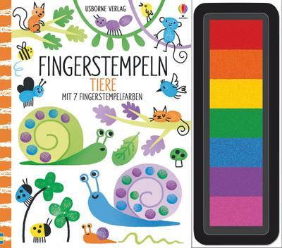 Fingerstempeln: Tiere