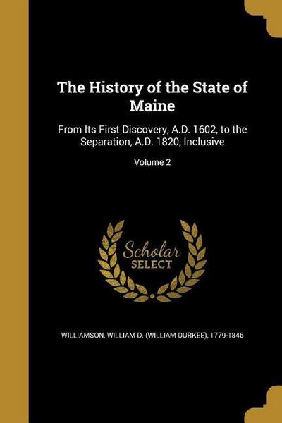 HIST OF THE STATE OF MAINE