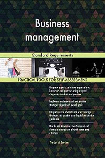 Business management Standard Requirements