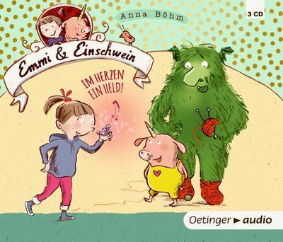 Emmi und Einschwein 2. Im Herzen ein Held (3 CDs)