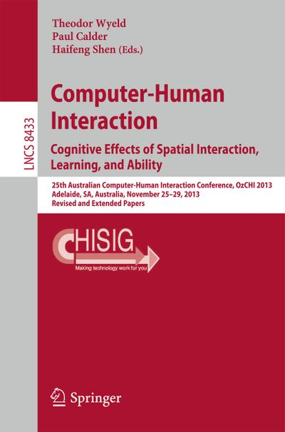 Computer-Human Interaction. Cognitive Effects of Spatial Interaction, Learning, and Ability