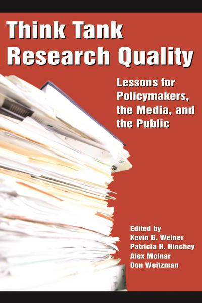 Think Tank Research Quality