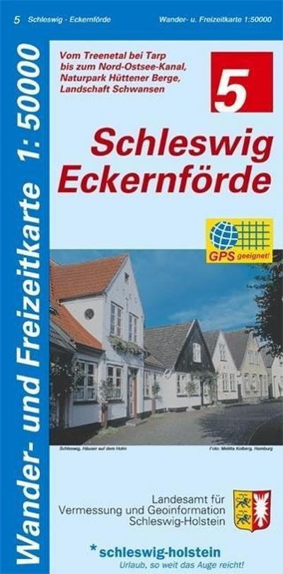 Schleswig - Eckernförde 1 : 50 000