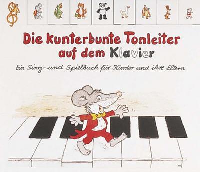 Die kunterbunte Tonleiter auf dem Klavier