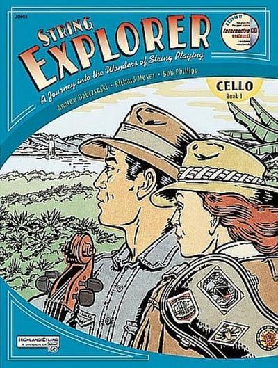 String Explorer, Bk 1: Cello