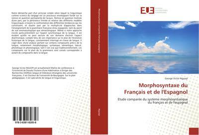 Morphosyntaxe du Français et de l'Espagnol