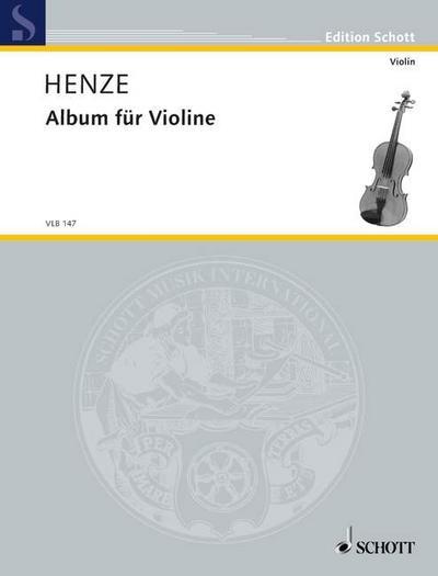 Album für Violine: Violine. Violin-Bibliothek