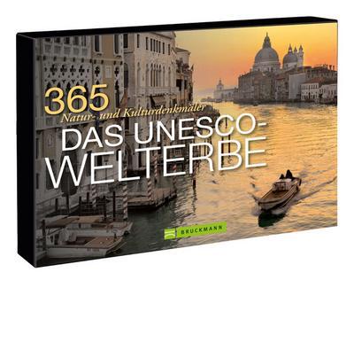 Tischaufsteller Das UNESCO-Welterbe; 365 Natur- und Kulturdenkmäler   ; Tischaufsteller ; Deutsch
