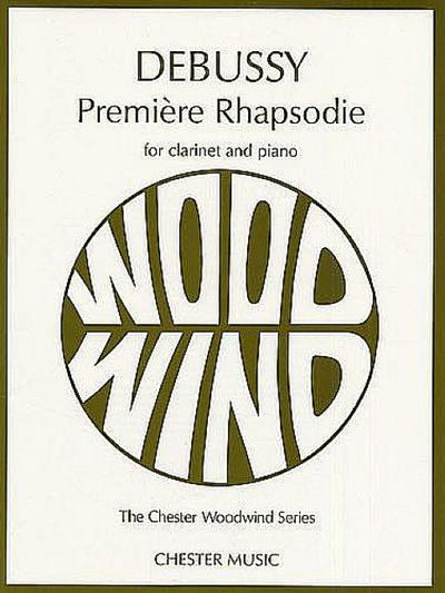 Premiere Rhapsodie: Clarinet and Piano