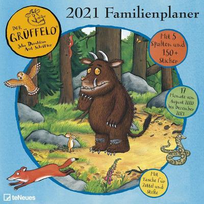 Grüffelo Familienplaner 2021