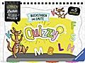 Quizzy: Buchstaben und Laute; Lernen Lachen Selbermachen; Ill. v. Kaergel, Julia; Mitwirkung v. Walch, Helmut; Deutsch; durchg. farb. Ill., Lösungssystem von Helmut Walch