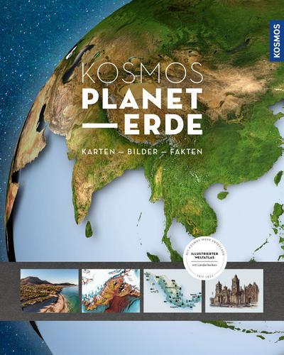 KOSMOS PLANET ERDE; Deutsch; 600 farb. Fotos, 0 schw.-w. Fotos, 330 Illustr., 0 Illustr.