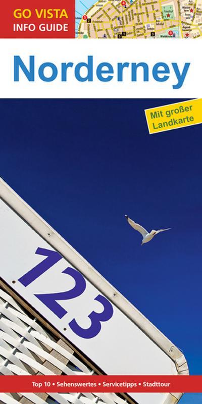 GO VISTA: Reiseführer Norderney (Mit Faltkarte)