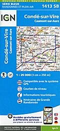 Condé-sur-Vire 1:25 000