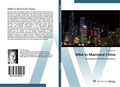 M&A in Mainland China