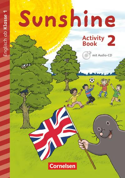 Sunshine - Early Start Edition - Neubearbeitung: 2. Schuljahr - Activity Book mit Audio-CD, Minibildkarten und Faltbox