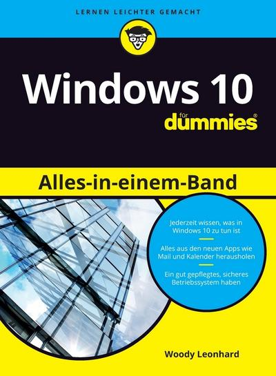 Windows 10 Alles-in-einem-Band für Dummies