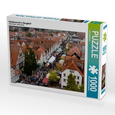 Oktobermarkt in Burgdorf (Puzzle)